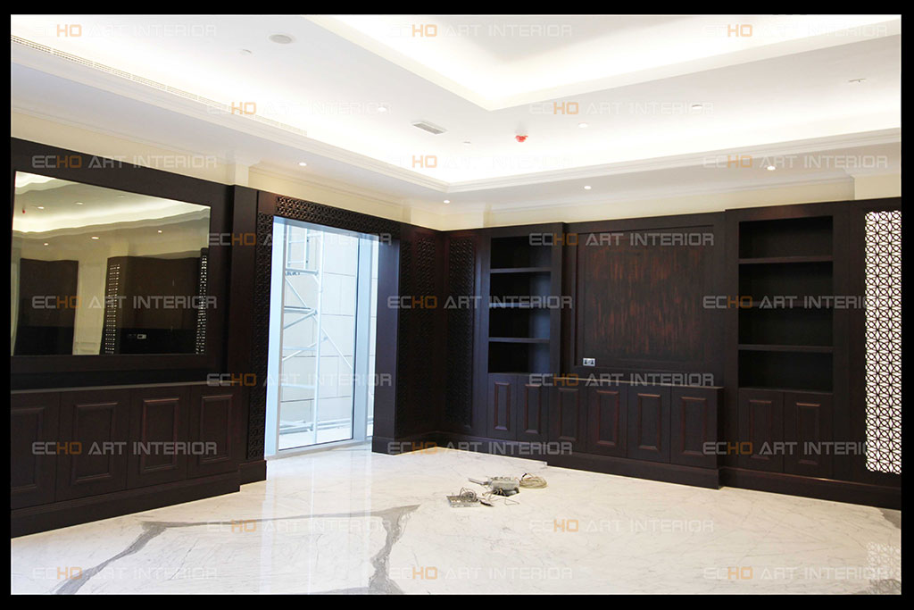 Doors and Wardrobe with traditional and modern artistic style